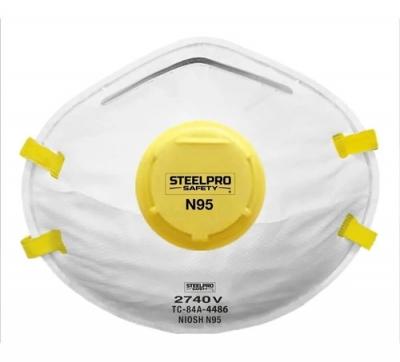 Respirador Steelpro 2740 N95 con válvula
