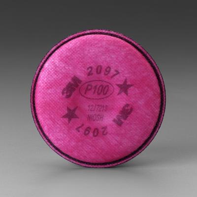 Filtro 3M 2097 P100 para Partículas y Vapores Orgánicos