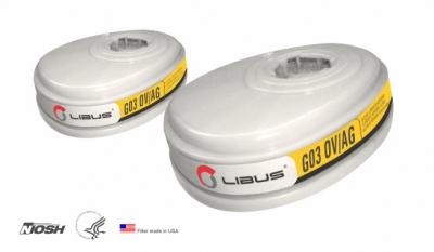 Cartucho Libus G03 OV/AG Vapor Organico y Gases Acidos