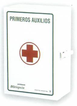 Botiquin Metálico Nº15 - 22 Unidades