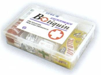 Botiquin Plástico Nº2 - 10 Unidades