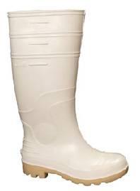 Bota PVC Frigorífico Blanca con puntera