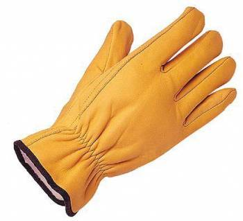 Guante Vaqueta Amarilla ½ medio paseo Certificado