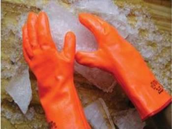 Guante de PVC Fluo para Bajas Temperaturas