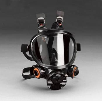Mascara Full Face 3M 7800S Silicona