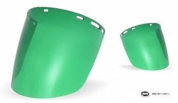 Protector Facial Libus Burbuja Verde HC Norma ANSI