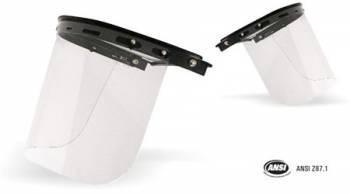 Protector Facial plano LIBUS de policarbonato Flexible