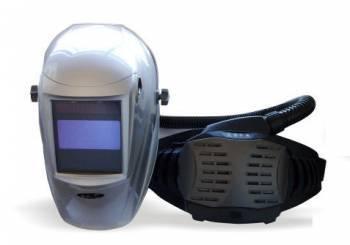 Respirador Libus PAPR AIR WING con Máscara para Soldar Fotosensible