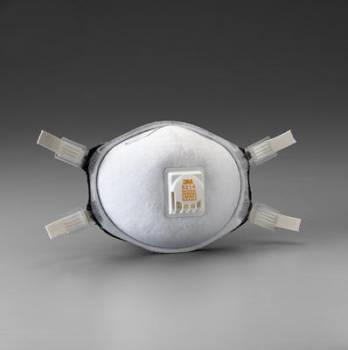 Respirador 3M 8214 N95 Para Soldadura, Niv. Moles. Vap. Org y Oz con Válvula