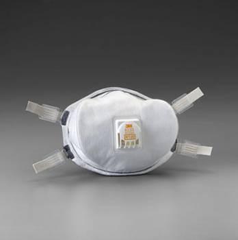 Respirador 3M 8233 N100 Alta Eficiencia con Válvula y Sello Facial