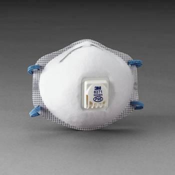 Respirador 3M 8271 P95 para Polvos y Neblinas con o sin Aceite