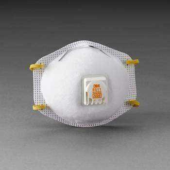 Respirador 3M 8511 N95 para Polvos y Partículas Líquidas sin Aceite