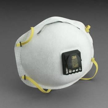 Respirador 3M 8515 N95 para Soldadura