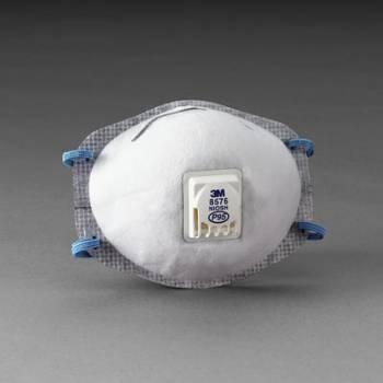 Respirador 3M 8576 P95 para Niveles Molestos de Gases Ácidos con Válvula