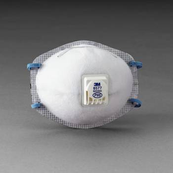 Respirador 3M 8577 P95 para Niveles Molestos de Vapores Orgánicos con Válvula