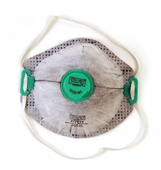 Respirador SteelPro F720 N95 para Vapores Organicos Con Valvula